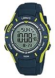 Lorus Reloj Cronógrafo para Niños de Digital con Correa en Silicona R2365MX9
