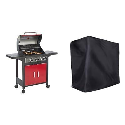 Barbec-U Gasgrill 3 + 1