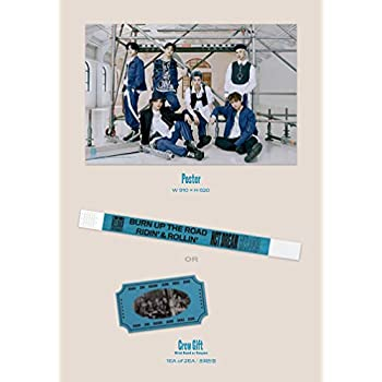 NCT Dream - Reload [Ridin+Rollin ver. Set] Album+Pre-Oder Benefit+Folded Poster+Extra Photocards Set