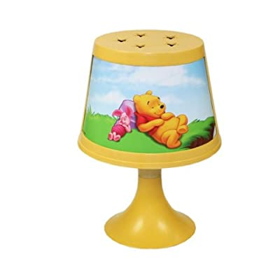 DISNEY WINNIE POOH Kinderlampe 29cm (C) Nachttischlampe Nachtlicht Tischlampe Stehlampe Kinder von Disney auf Lampenhans.de