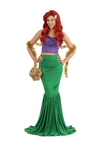 Fun Costumes Costume da sirena per adulti, da donna Irish Green,Purple XL
