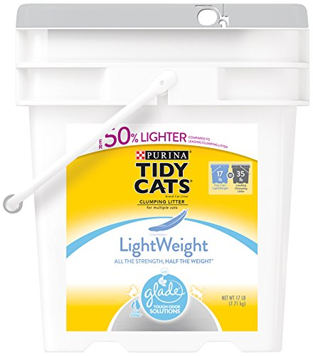tidy-cats-cat-litter-clumping-glade-tough-odor-solutions-lightweight-17-pound-pail-by-purina-tidy-ca