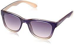 Fastrack Gradient Wayfarer Women Sunglasses (P304PR2F|50|Purple)