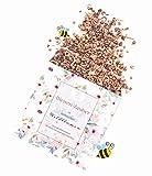 valeaf Bienen-Zauber - Blumenmischung - 75 m² - wunderschöne Bienenweide - Premium-Saatgut für bunte Bienenwiesen - bienenfreundliche Blumensamen mit vielen heimischen Wildblumen - 75 g