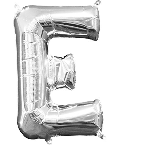 Amscan 3301901 Buchstabe E Mini-Form-Folien-Ballon, 40x60cm