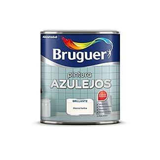 Bruguer 5075266 – Esmalte para azulejos brillante AMARILLO LIMÓN Bruguer 750 ml