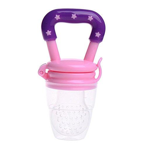 Alimentador para bebés de silicona