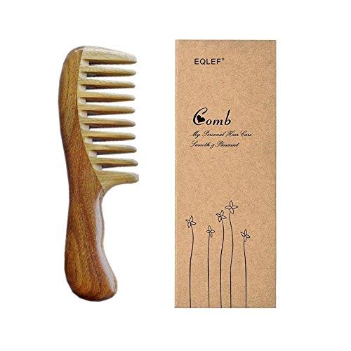 EQLEF® peine de madera de sándalo