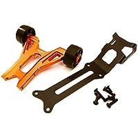 Integy RC C27985ORANGE Billet Machined Wheelie Bar Kit para Traxxas X-Maxx 4X4
