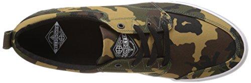 HUF, Scarpe da Skateboard uomo multicolore Navy/Gold Camo