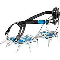 Salewa Unisex Steigeisen Alpinist Combi, steel/blue, One Size, 00-0000000815