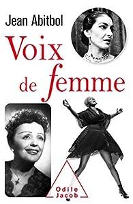 Voix de femmes par Jean Abitbol