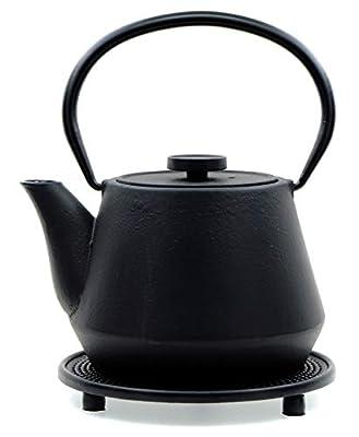 GOTO Théière en Fonte de Style Japonais Noir 0,7 l