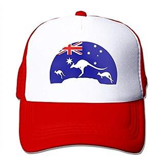 Osmykqe Loving Kangaroo Australian Flag Summer Quick Drying Sport Cap Running Caps Tennis Hat
