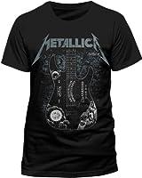 Collectors Mine Herren T-Shirt Metallica-Kirk Guitar