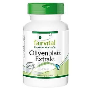 Olivenblatt Extrakt (Olea europaea) 150 mg mit 20% Oleuropein 60 Kapseln