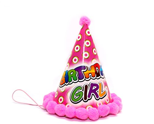 Happy Birthday Girl Cap Pink