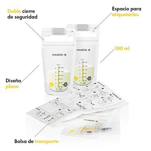 Tigex Pack 20 bolsas de conservaci/ón para lactancia materna Nuk