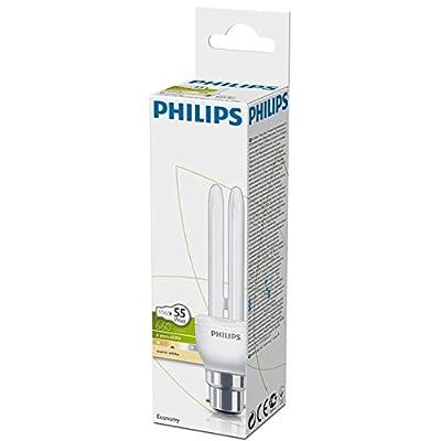 3 X Philips 11w Genie Energy Saving Light Bulb, BC/B22/Bayonet Cap, 10 Year Lifetime