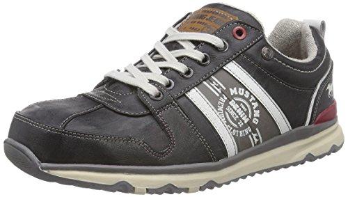 Mustang Schnürhalbschuh, Herren Sneakers, Grau (200 stein), 50 EU