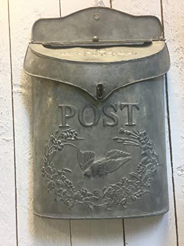 Chic Antique nostalgischer Briefkasten Zink Antik-look Shabby Mailbox