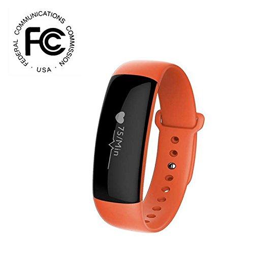Smart Armband Bluetooth Smart Watch Fitness Tracker,Aktivitäts Tracker Schrittzähler Schlafanalyse Kalorienzähler Anruf/SMS Aussehen Vogue Sport Uhr,Sport Activity Fitness Tracker für IOS und Android