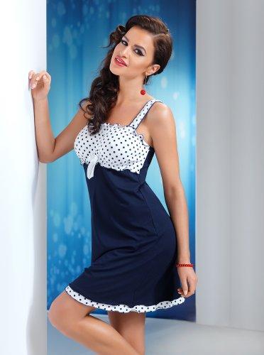 R-Dessous - Chemise de nuit - Femme Small Bleu