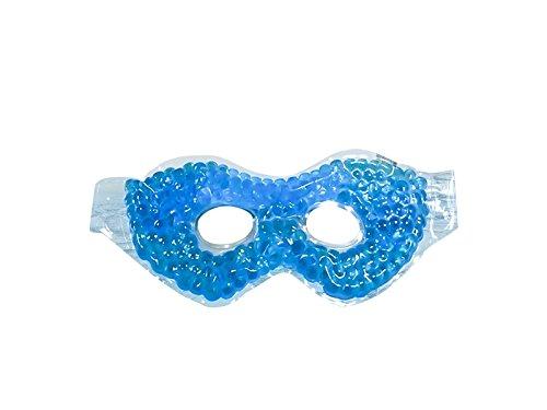 Praktisch Cool Gel Eis Perlen Komfort Schlaf Augenmaske Relax Hilfe Augenbinde (Blau) Zum Schlafen