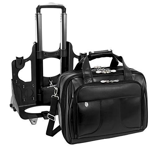 McKlein Herrentasche Laptoptasche Taschen auf Rädern Chicago naturaleder 17