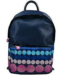 510e615ff Ted Baker Molls Marina Mosaic Nylon Backpack Navy