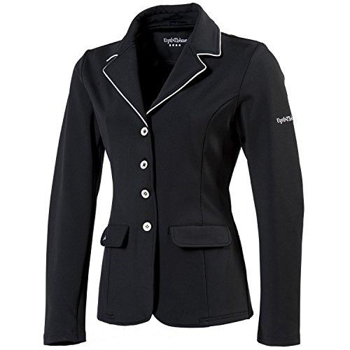 EQUI-THÈME Veste de concours équitation femme Soft Light - 2 Couleurs : Noir ou Marine