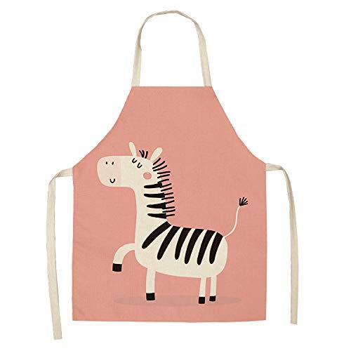 YXDZ Supermarkt Maniküre Restaurant Milch Tee Konditorei Küche Europäisch Erwachsene Männer Und Frauen Anti-Öl Haushalt Heimarbeitskleidung Schürze Cartoon Schürze 4 (Muskel Mann Kostüm Kind)