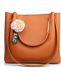 Mammon Women's Handbag (LR-bib-Tan_Tan)