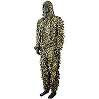 Camouflage KOMPLETT Camo grünen 3D Jagd System Outdoor Suit Jacke Hose Kapuze Leicht