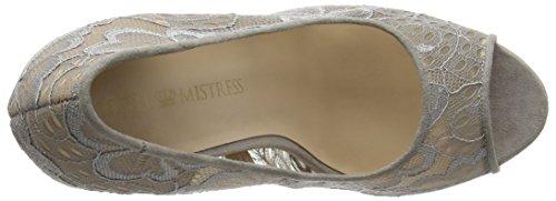 Little Mistress - Polly, Chaussures Pour Femmes Grey (gris (gris))
