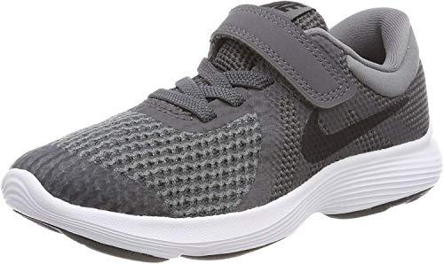 Nike Revolution 4 (PSV), Zapatillas para Niñas, Azul (Neutral Indigo/Lt Carbon/Obsidian/Black/White 501), 33 EU
