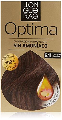 LLONGUERAS LLONGUERAS OPTIMA hair colour #6.41-bombón chocolate