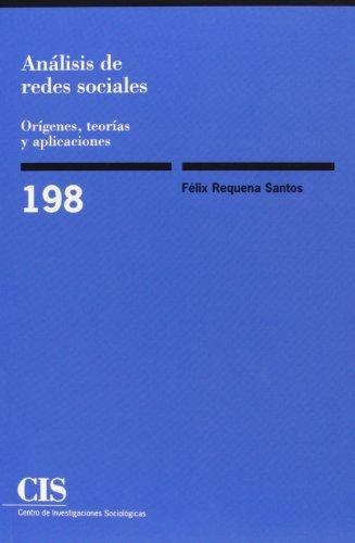 Análisis de redes sociales: Orígenes, teorías y aplicaciones (Monografías) por Félix Requena Santos