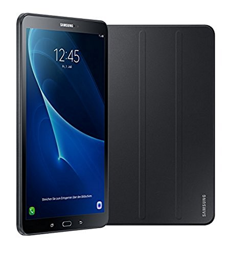 Samsung-Galaxy-Tab-A-T580N-2554-cm-101-Zoll-Wi-Fi-Tablet-PC-Octa-Core-2GB-RAM-16GB-eMMC-Android-60-schwarz-inkl-Samsung-Book-Cover-Limited-Edition