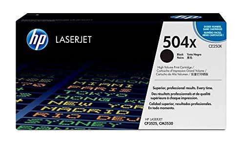 HP 504X Schwarz Original LaserJet Tonerkartusche mit hoher Reichweite