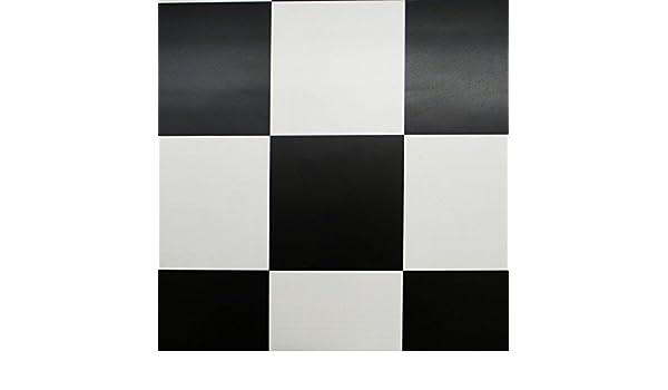 Fußbodenbelag Schwarz Weiß Kariert ~ Pvc bodenbelag schachbrett schwarz weiss mm breite m
