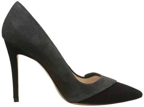 Pura Lopez Pump, Escarpins Femme Multicolore (Black/Antracita)