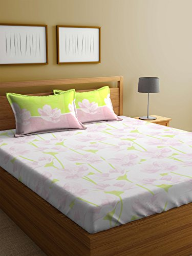 b0ad5db94b 2% OFF on Trident Day To Day 120 TC 100% Cotton Single Bedsheet With 1  Pillow Cover on Amazon | PaisaWapas.com