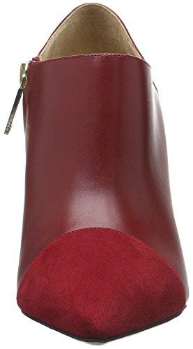 HUGO Damen Ellen 10193790 01 Kurzschaft Stiefel Rot (Open Red 646)