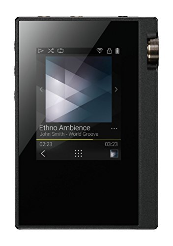 Onkyo Europe Electronics Dp-S1 Digitaler Hi-Res Audioplayer Silber (Hi-res-player)