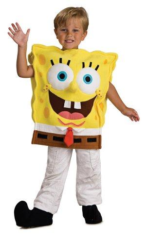 Costume bambino deluxe Spongebob taglia S, 3-4 anni