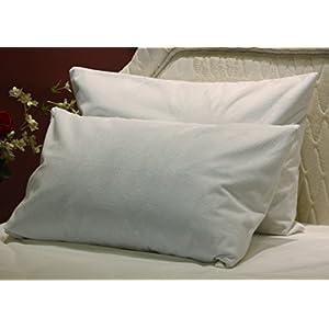 Trance Home Linen Waterproof & Dustproof Pillow Protector-18 x 28″ (Blue)