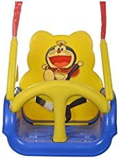Truphe Musical Baby Swing With Music (Premium Blue)