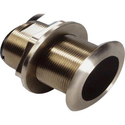 Garmin B619 12° Bronze Thru Rumpf Transducer - 8-Pin Kabellänge (Füße) = 30' ; Verkleidungsblock inklusive 12 Transducer