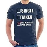 Photo de Coto7 Mentally Dating Avril Lavigne Men's T-Shirt par Coto7